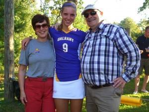 Daphne and parents