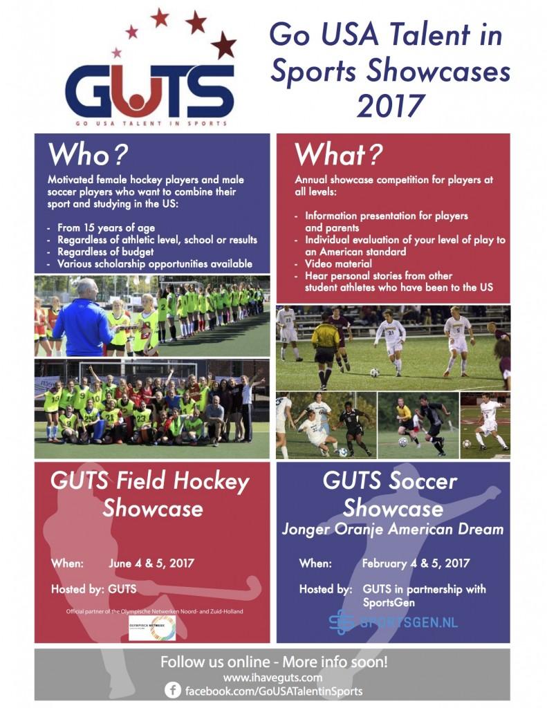 GUTS Field Hockey Showcase