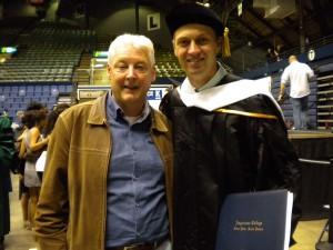 Ricky Voorn graduation