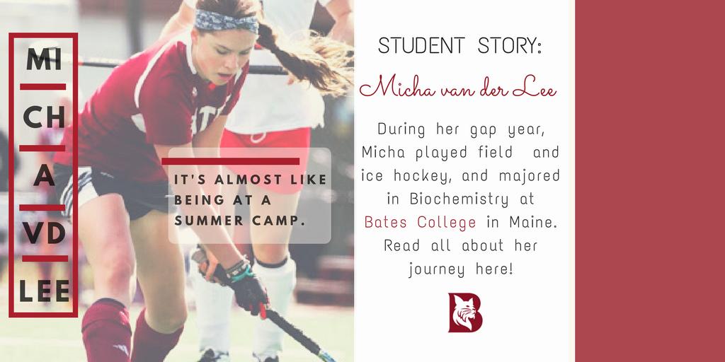 Micha van der Lee – Bates College, Maine
