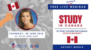 Free Live Facebook Webinar Study in Canada