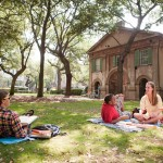 College of Charleston students on campus