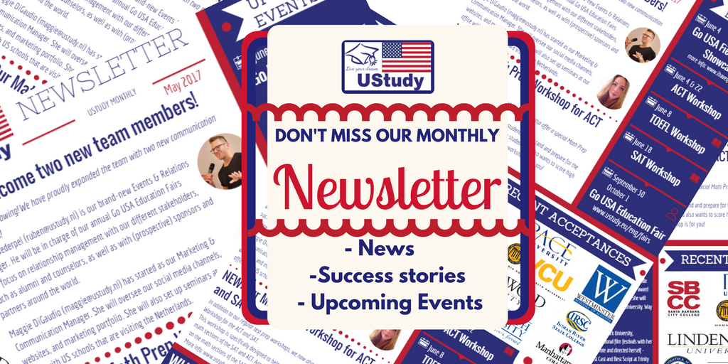 UStudy Niewsbrief: April – Juni 2017